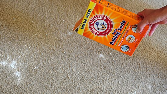 Can you clean your carpet with baking soda