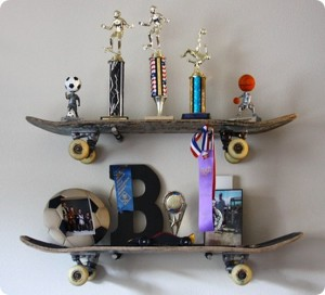 Skateboard-Shelves