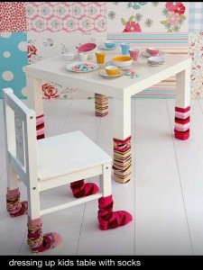 sock table