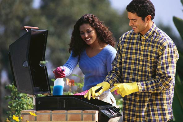 how to clean your barbecue grill